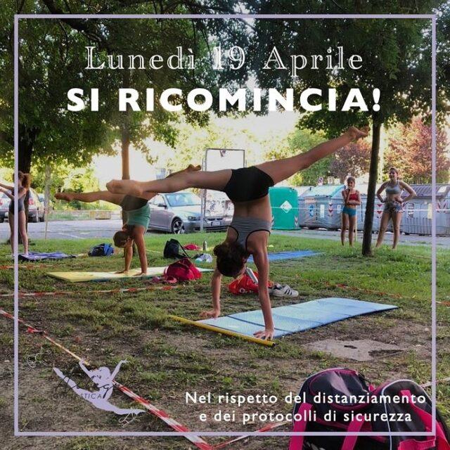 Attività all'aperto! 🍃 LUNEDÌ 19 APRILE RICOMINCIAMO 🤩 #ginnasticaallegria #polisportivasanfaustino