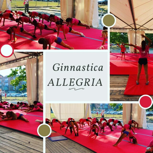 Pronte per ripartire alla grande!!! #ginnasticaartistica #ginnasticaallegria #polisportivasanfaustino